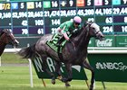 Pure Sensation won Jaipur Invitational June 11 on Belmont Park turf