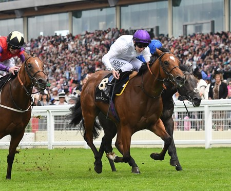Prince of Lir wins the Norfolk Stakes at Royal Ascot, June 16, 2016.