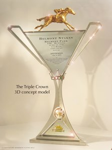 Nyra Commissions New Triple Crown Trophy Bloodhorse