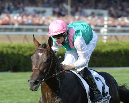 Flintshire wins the 2016 Sword Dancer Stakes.