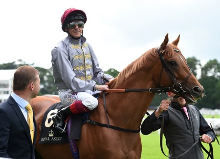 Galileo Gold wins the St James's Palace Stakes at Royal Ascot June 14, 2016.
