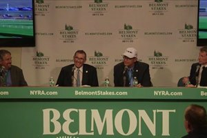 Belmont Stakes press conf vid