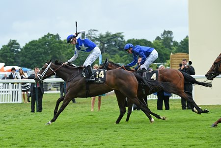 "Tepin wins Queen Anne Stakes June 14 at Royal Ascot. <br><a target=""blank"" href=""http://photos.bloodhorse.com/AtTheRaces-1/At-the-Races-2016/i-Dd4St46"">Order This Photo</a>"