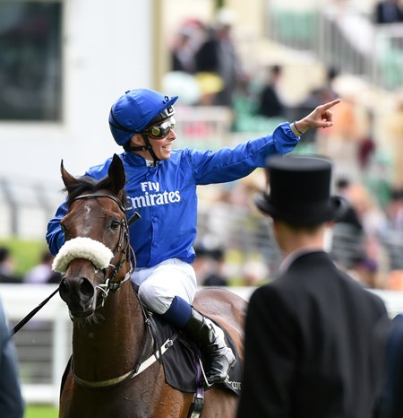 Ribchester wins the 2016 Jersey Stakes at Royal Ascot, June 15, 2016,