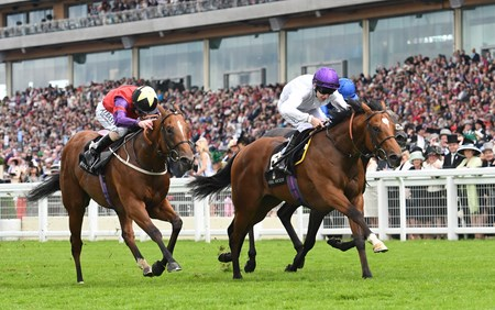 Prince of Lir (IRE) wins the Norfolk Stakes at Royal Ascot June 16, 2016.