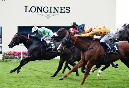Twilight Son wins the 2016 Diamond Jubilee Stakes at Royal Ascot on June 18, 2016.