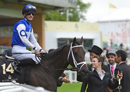 Tepin wins the Queen Anne Stakes at Royal Ascot June 14, 2016.