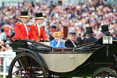 Her Royal Highness Queen Elizabeth II at Royal Ascot last season