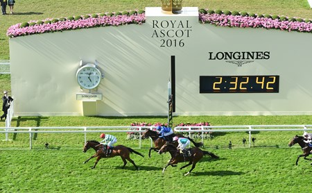 Kinema wins the 2016 Duke Of Edinburgh Stakes at Royal Ascot on June 17, 2016.