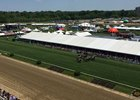 Turf racing at Pimlico