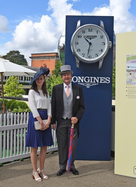 Longines and people at Royal Ascot June 14, 2016.