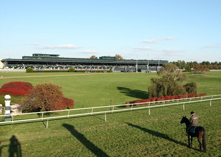 Keeneland fall racing scene