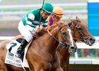 Stellar Wind wins the 2016 Clement L. Hirsch Stakes