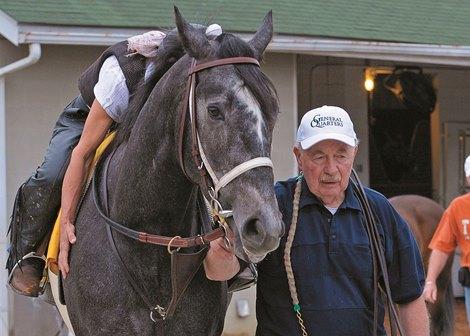 Mccarthy Trainer Of General Quarters Dies Bloodhorse