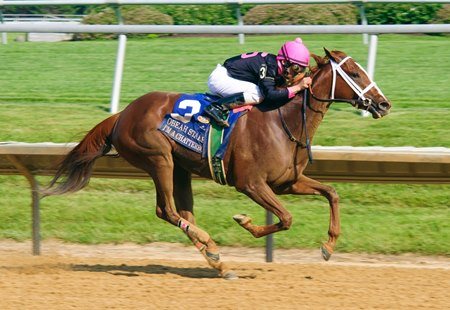 I'm a Chatterbox wins Obeah Stakes at Delaware Park
