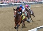A. P. Indian leads the way home in the Alfred G. Vanderbilt Handicap
