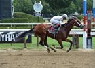 Theory in his July 30 maiden win at Saratoga Race Course