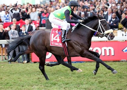The Conglomerate was a 20-1 surprise in the Vodacom Durban July.