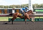 Moiety wins at Arlington International July 8.