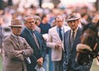 Paul Mellon, left, and Mack Miller, right, enjoyed a season to remember at the Spa in 1987
