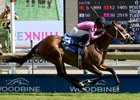 Lexie Lou wins Dance Smartly Stakes