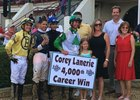 Corey Lanerie notches 4,000th win July 31 at Ellis Park