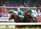 Dacita outfinishes Recepta to win the  Diana