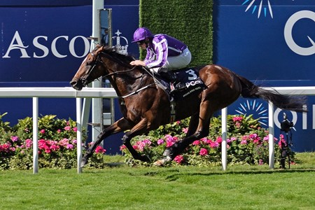 Highland Reel with Ryan Moore up wins the King George VI and Queen Elizabeth Stakes. July 23, 2016, Ascot, GB,