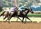 California Diamond wins Santa Anita Juvenile closing weekend