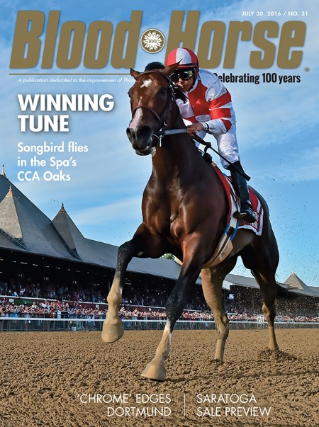 Blood-Horse cover May 30, 2016 issue no. 31