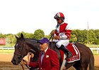 Songbird after CCA Oaks win at Saratoga
