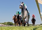Kasaqui winning the Arlington Handicap