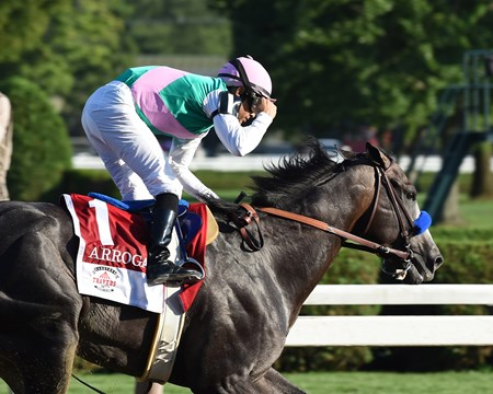Arrogate wins the 2016 Travers.