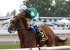 Red Lodge wins Aug. 6 Colleen Stakes at Monmouth Park.