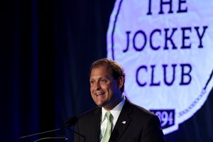 Rep. Andy Barr at the 2016 Jockey Club Round Table in Saratoga Springs, N.Y.