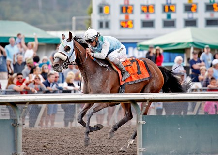 Stryker Phd wins the WA Cup Muckleshoot Tribal Classic S. Aug. 28