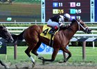 Cherry Lodge wins her debut Aug. 8 at Saratoga Race Course
