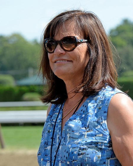 Barbara Banke on Aug. 27, 2016, in Saratoga Springs, N.Y.