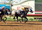 Tara's Tango comes home strong in the Rancho Bernardo Handicap
