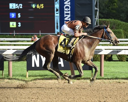 Rachel's Temper wins the Summer Colony Stakes.