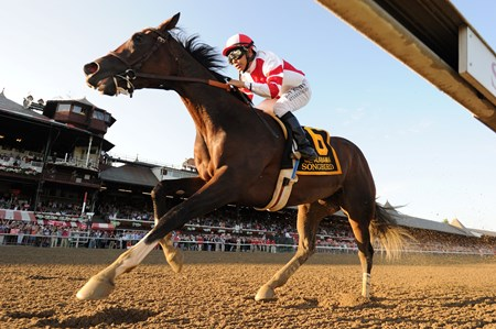 Songbird wins the 2016 Alabama