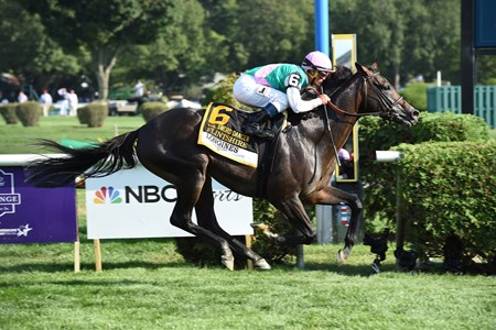 Flintshire wins the 2016 Sword Dancer.