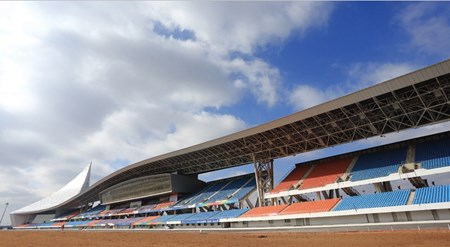 Yiqi Race Course in Ordos, Inner Mongolia