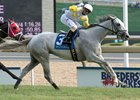 Camp Creek Posts Upset in Breeders' Stakes