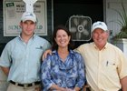 Andrew (left), Barbara, and Francis Vanlangendonck operate Summerfield Sales Agency