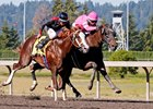 Opportunistic (outside) defeats Barkley July 31 at Emerald Downs