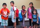 Blue Grass Farms Charities gives away 346 backpacks to Thoroughbred industry workers' children