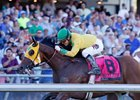 Point Piper wins the Longacres Mile at Emerald Downs
