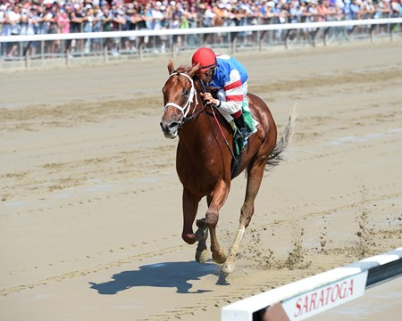 Syndergaard wins the 2016 Funny Cide Stakes.