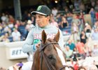 California Chrome Draws Rail in Awesome Again